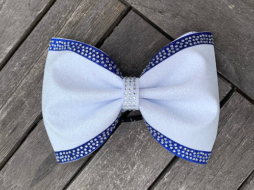 "4"" Tailless Glitter Bow"