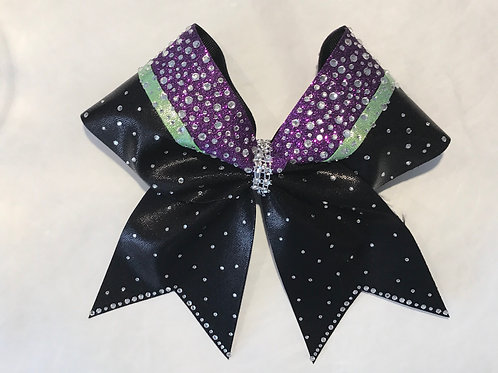 Customize Colors Rhinestone Cheer bow
