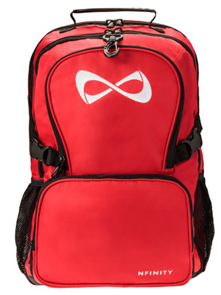 Red Nfinity Backpack