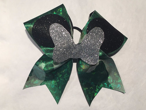 Camo Minnie Mouse Bow