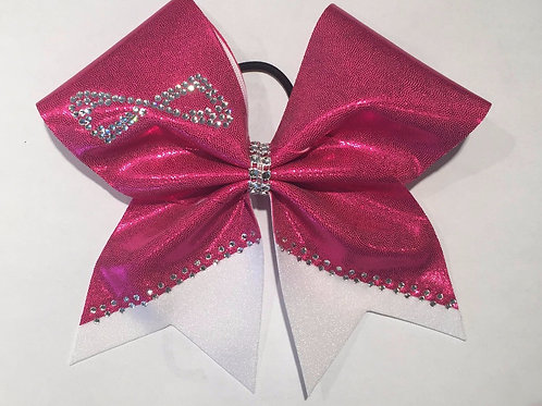Pink Nfinity Cheer Bow