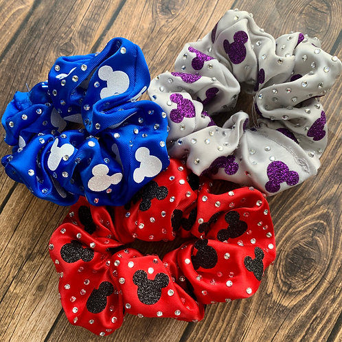 Mickey Mouse Scrunchies