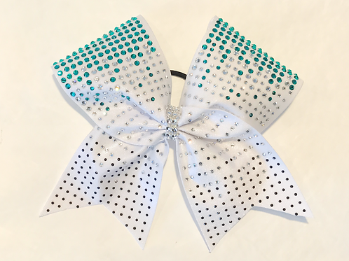 Great Whit Sharks Inspired Cheer Bow