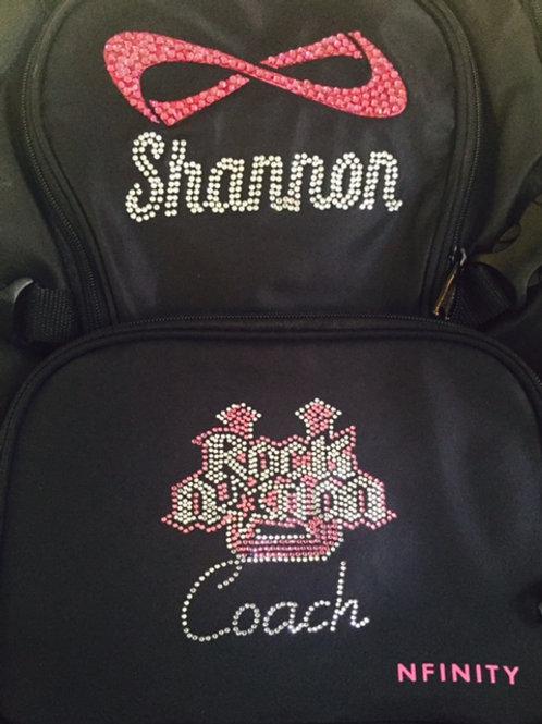 Custom Rocket Cheer Backpack No Shipping