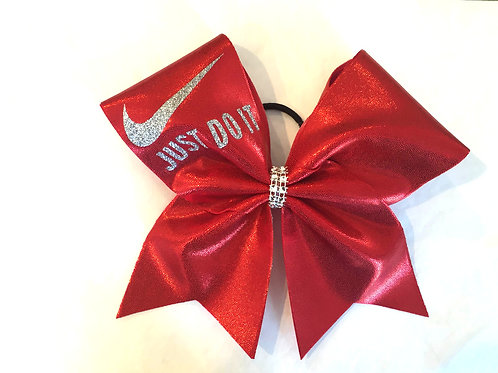 Red Mystique Nike Cheer Bow