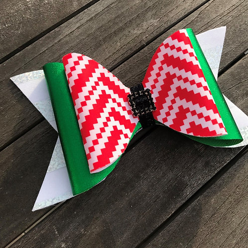 Tailless Christmas Bow