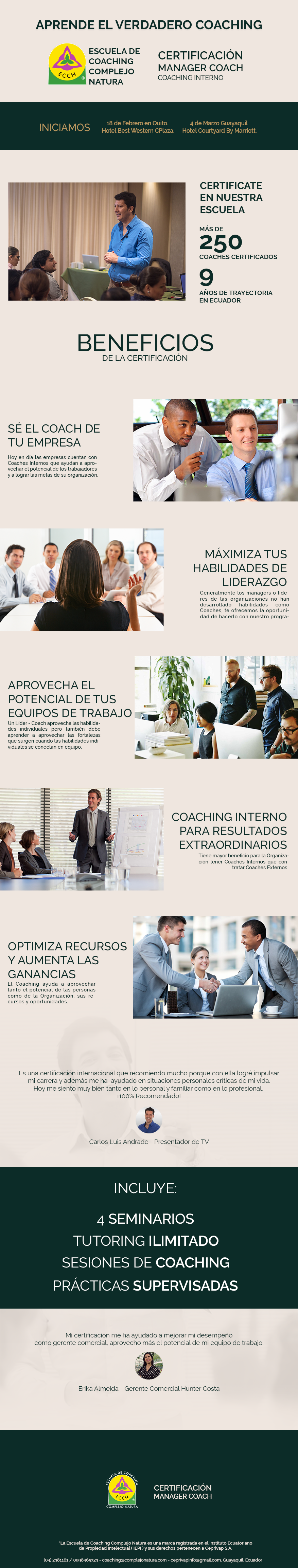 Info Manager Coach 2018