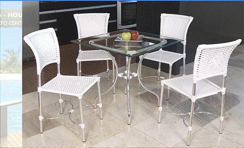 Conjunto de Mesa e Cadeiras Dália