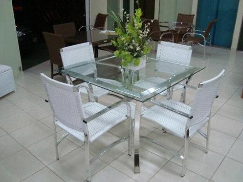 Conjunto de Mesa e Cadeiras Açucena
