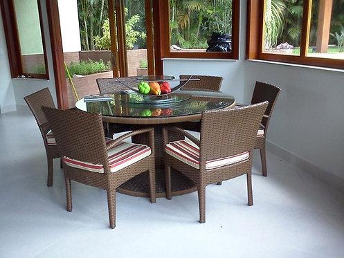 Conjunto de Mesa e Cadeiras Jade