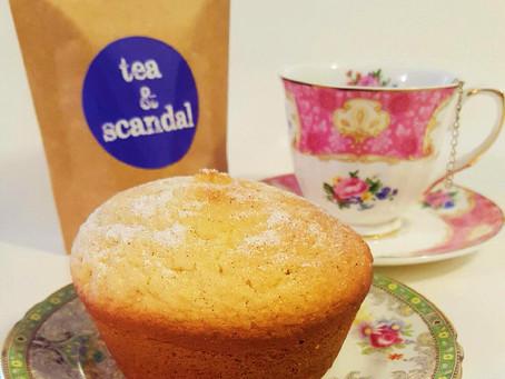 orange & cardamom tea cake