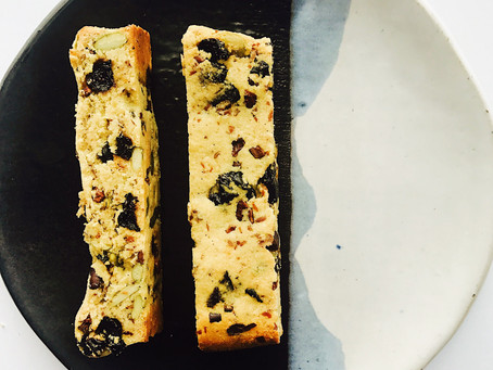 almond biscotti - the healthy way