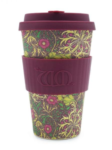 Reusable take away cup SEAWEED 400ML