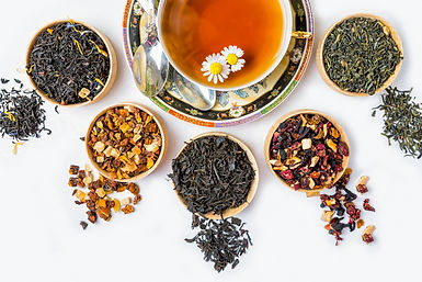 Tea, Cup of tea, various kinds of tea, t