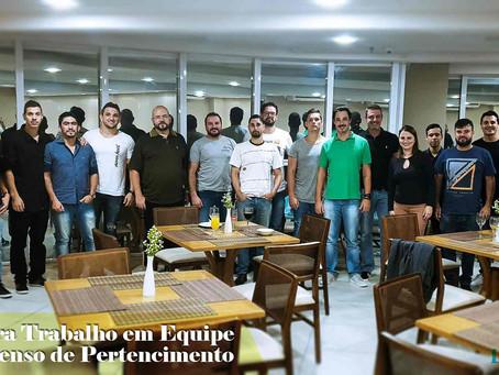 Palestra sobre Trabalho em Equipe e Senso de Pertencimento na  Liathu Malhas