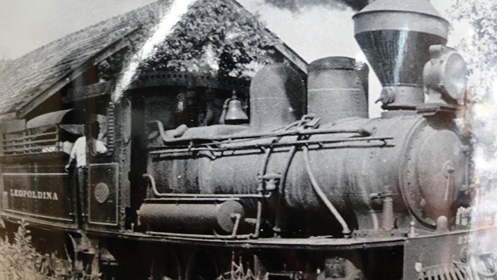 foto antiga trem nova friburgo rj