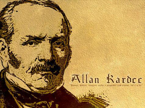 Allan Kardec imagem antiga