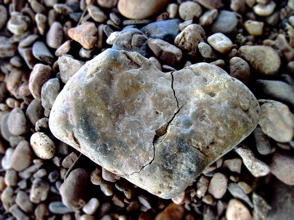 coração de pedra, frieza
