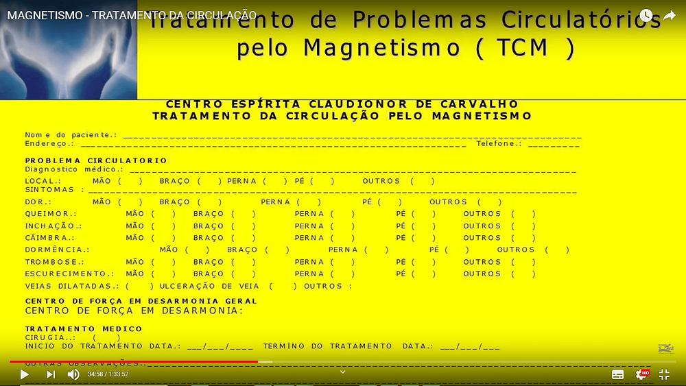 magnetismo para tratamento circulatório