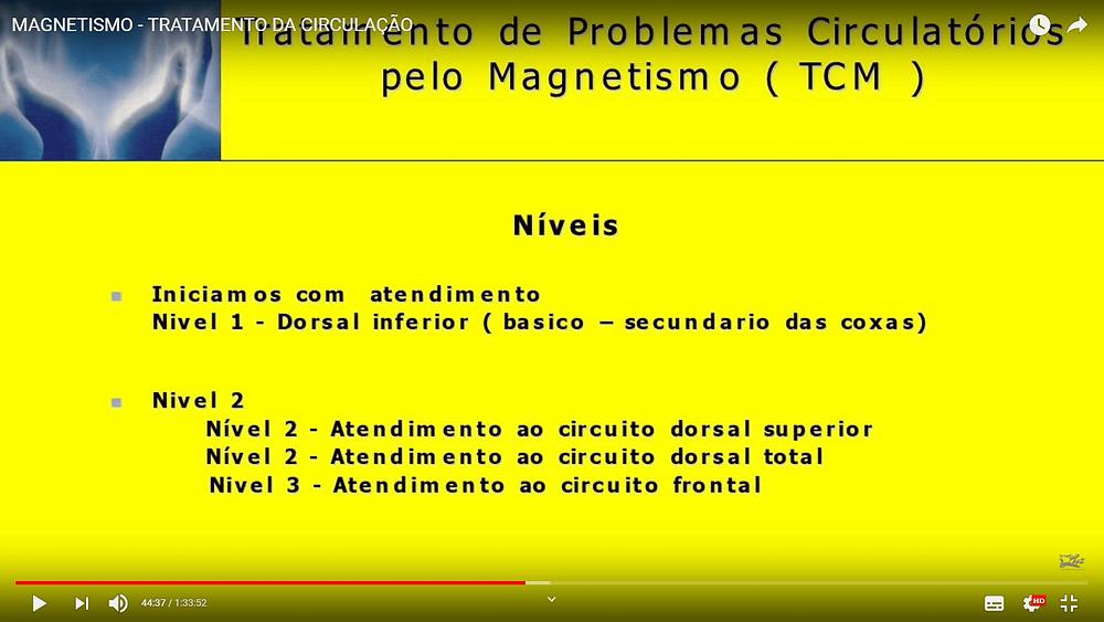 estudo para tratamento de problemas circulatórios pelo Magnetismo