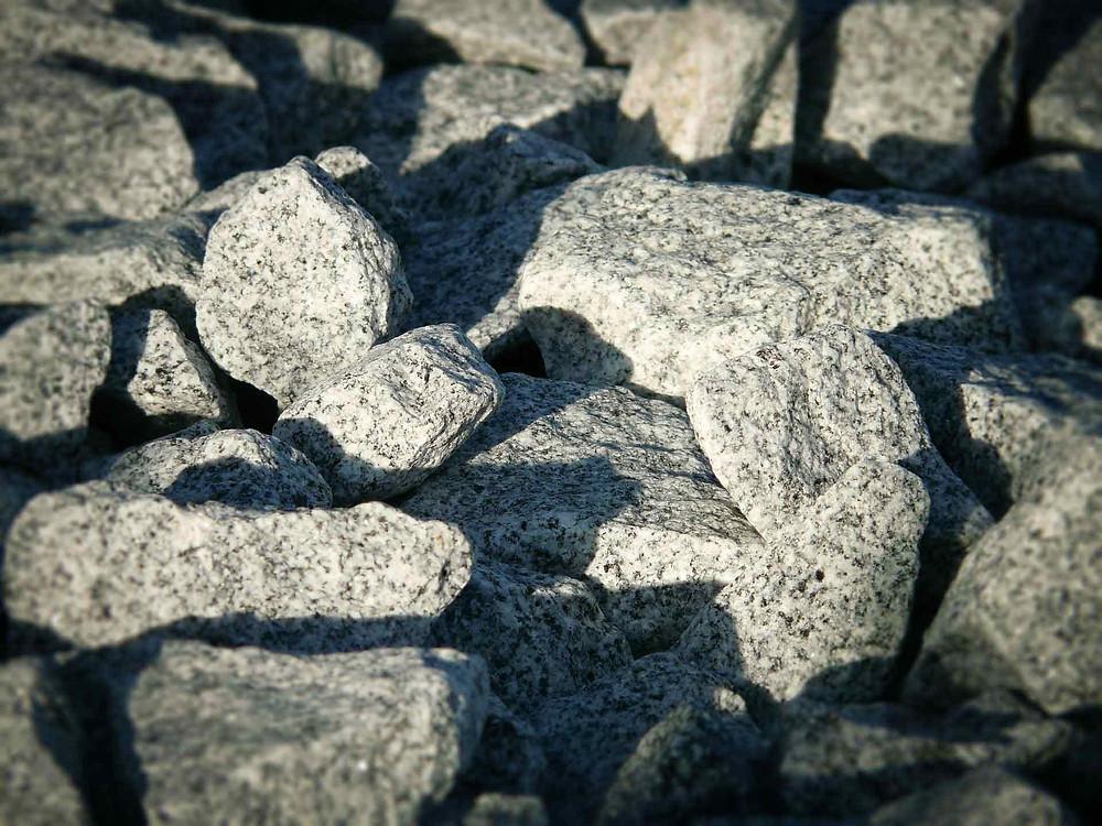 pedra de granizo para obra