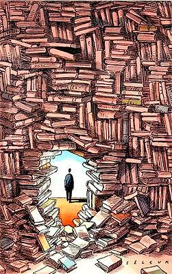 livros libertação ilustração