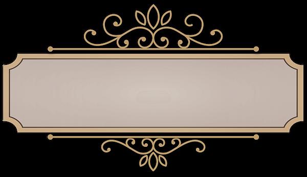 placa vintage bege retro