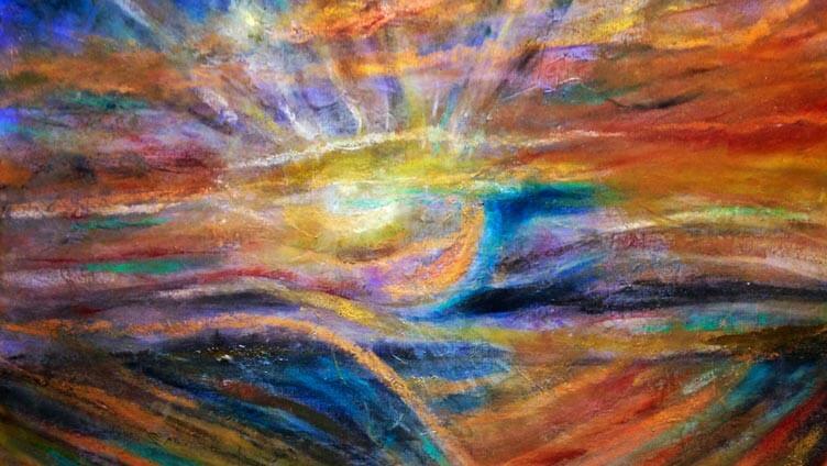 imagem abstrata simbolizando o tratamento com magnetismo espirita