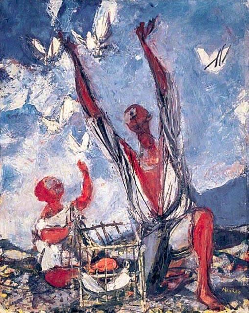 pintura de Sigmund Joseph Menkes