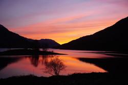Sunset Loch Leven