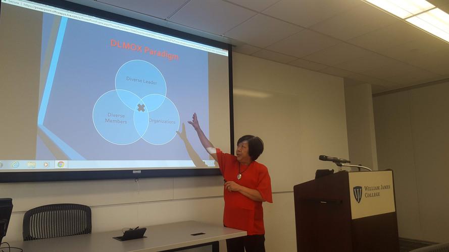 Jean Lau Chin Diversity Workshop at WJC
