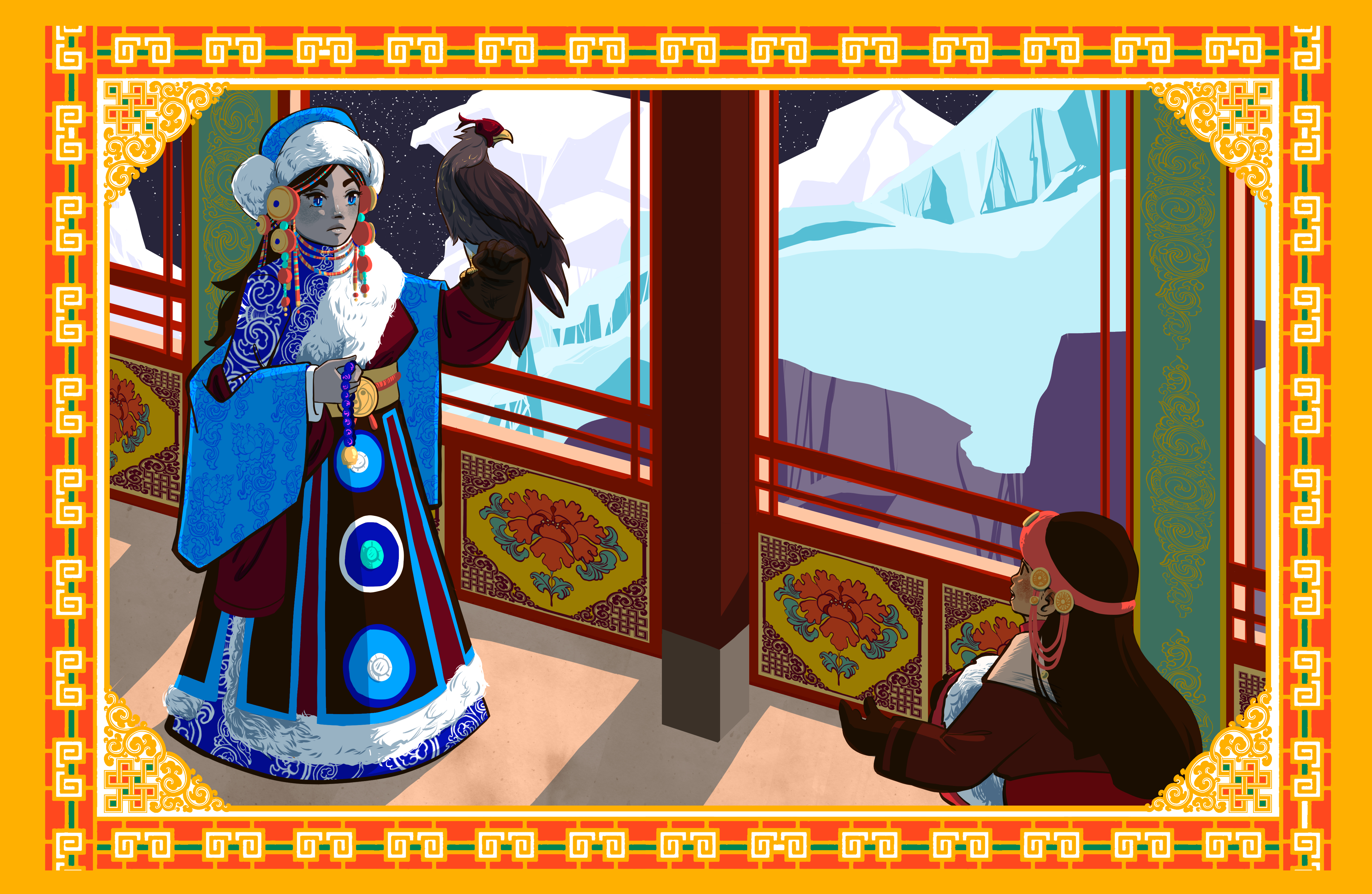 Tibetan Snow Queen