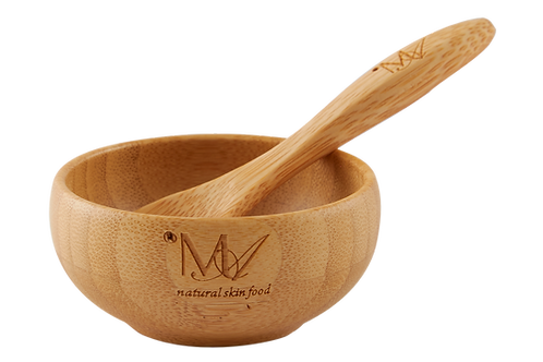 Bamboo Bowl and Spoon Set