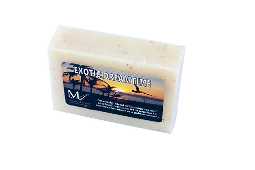 Exotic Dreamtime Raw Soap (Powerful Antibacterial Blend)