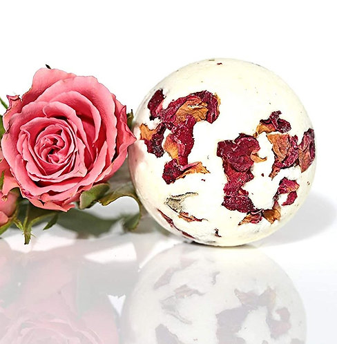 Organic Bulgarian Rose Bath Bomb