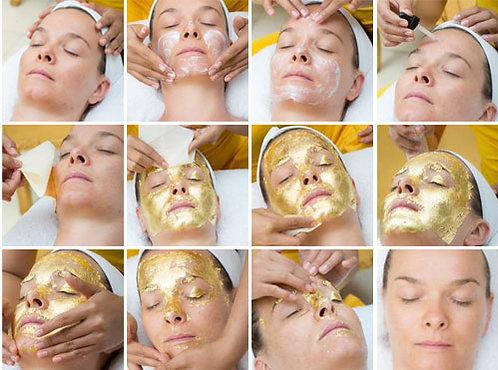 24K Gold Leaf Absorb Mask