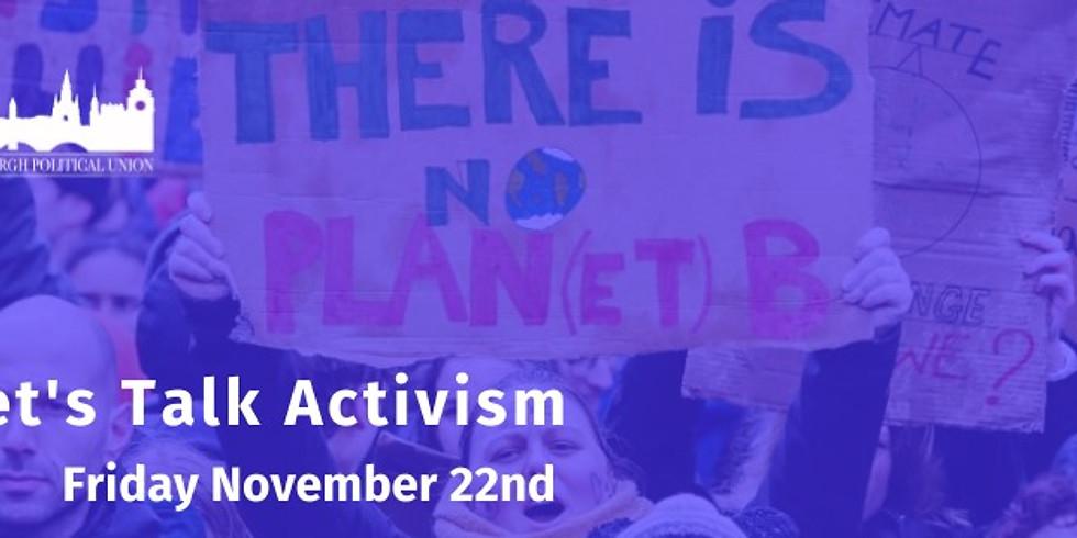 Let's Talk Activism