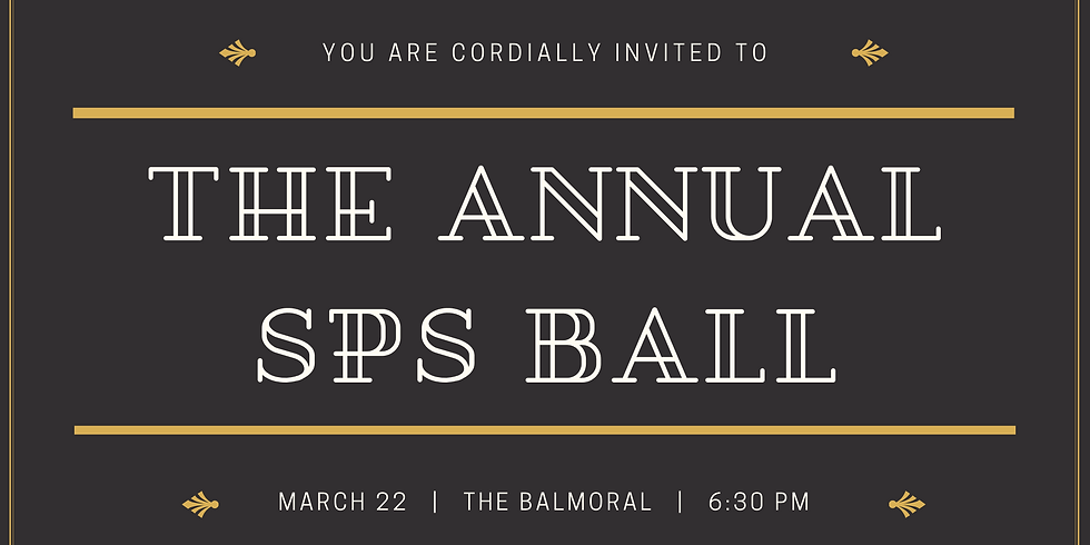 The Annual SPS Ball