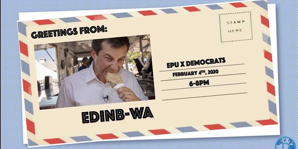 EPUxDemocrats: Edinburgh Straw Poll vs Iowa Caucus