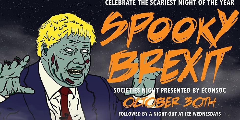 Spooky Brexit Halloween Night