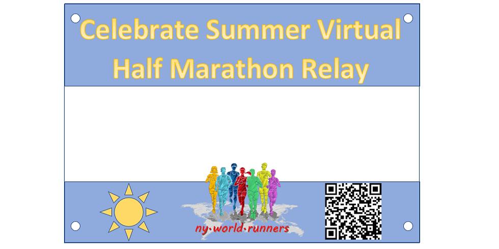 Celebrate Summer: Virtual Half Marathon Relay