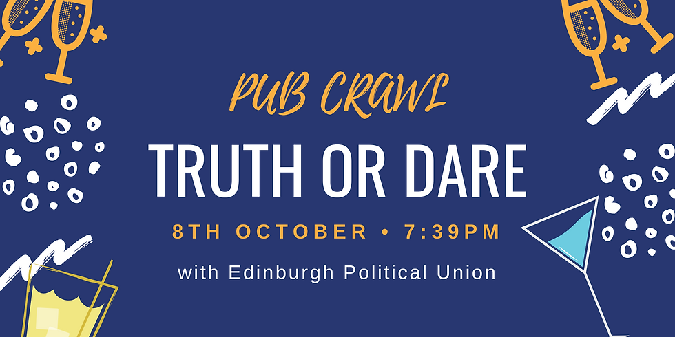 EPU Pub Crawl: Truth or Dare