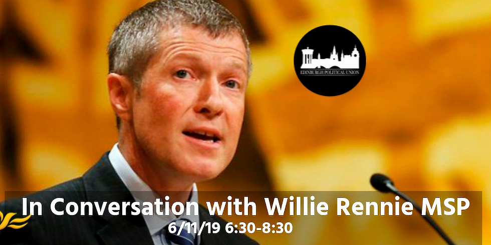 In Conversation with Willie Rennie MSP