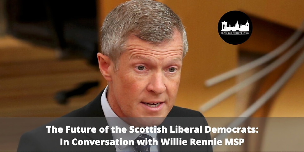 Future of the Lib Dems: In Conversation with Willie Rennie MSP