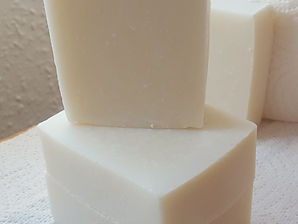 Simply soapy unscented and uncoloured vegan soap
