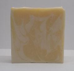 Tranquility May Chang and Bergamot naked bar of soap