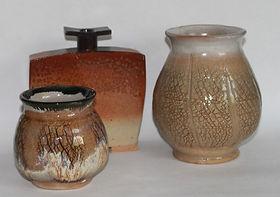 Open necked vases