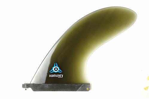 """KOMUNITY PROJECT WHALE 8.5"""" LONGBOARD FIN"""