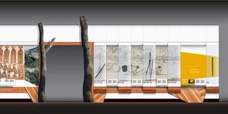 Communicating design: Elevation presentation drawing
