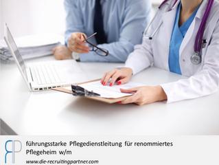 führungsstarke Pflegedienstleitung für renommiertes Pflegeheim w/m